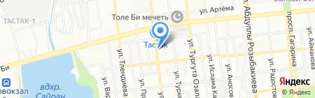 SUTORA на карте Алматы