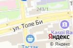 Схема проезда до компании Gold Service в Алматы