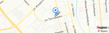 Магазин кондитерских изделий на ул. Таугуль 1-й микрорайон на карте Алматы