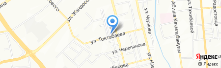 Иланна на карте Алматы