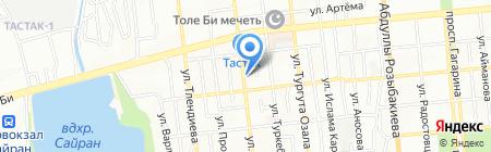 Лемакс ТОО на карте Алматы