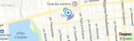 Российский лес торгово-производственная компания на карте Алматы