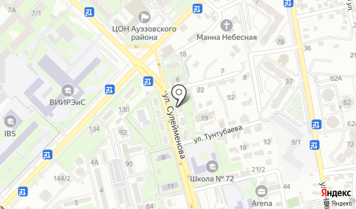 Той жулдызы. Схема проезда в Алматы