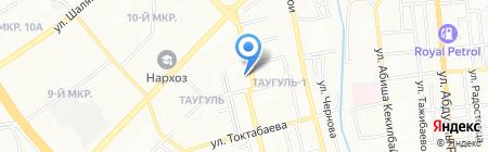 Young Garden на карте Алматы