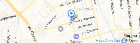 Магазин автомасел на карте Алматы