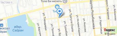 Магазин строительных материалов на карте Алматы