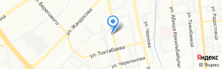 Море пива на карте Алматы
