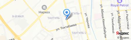 Львёнок ДИ на карте Алматы