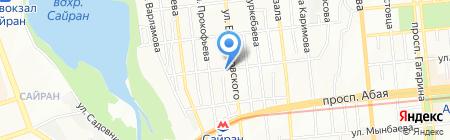 Муса на карте Алматы