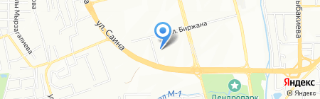 Ясли-сад №89 на карте Алматы