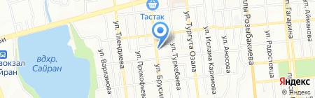 1000 мелочей магазин на карте Алматы