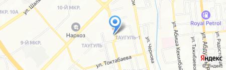 Космос на карте Алматы