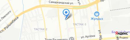 Корея на карте Алматы