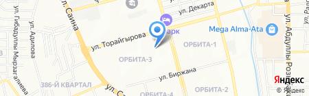 АменИ-с на карте Алматы
