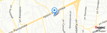 Комплекс на карте Алматы