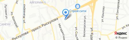 SAMGAT BROTHERS на карте Алматы