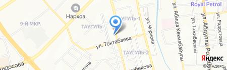 Мир игрушек ТОО на карте Алматы