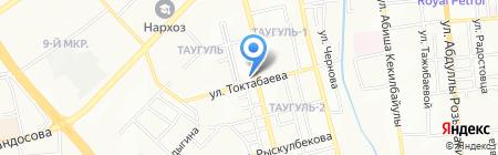 Овощной магазин на ул. Сулейменова на карте Алматы