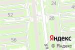 Схема проезда до компании C est la vie в Алматы