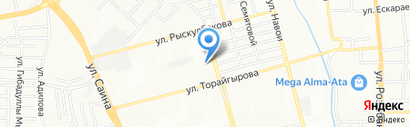 Aqua-S на карте Алматы