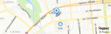 DDI на карте Алматы