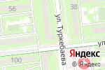 Схема проезда до компании КАССА 24 в Алматы
