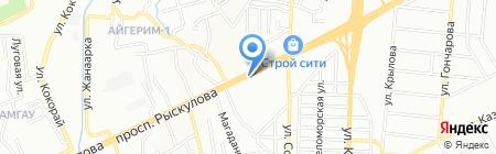 АЗС RK-Oil на карте Алматы