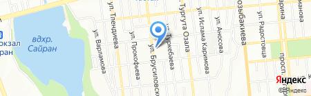 СДЮШОР №2 на карте Алматы