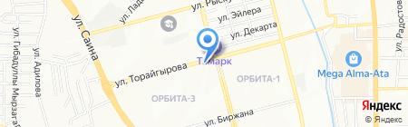 Клапан на карте Алматы