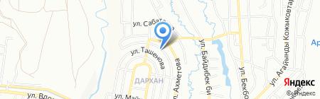 Транспортно-экспедиторская компания на карте Алматы