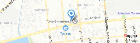 Школа-гимназия №144 на карте Алматы