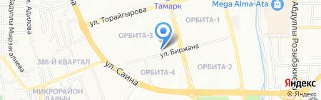 Рената на карте Алматы