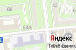 Схема проезда до компании Алия в Алматы