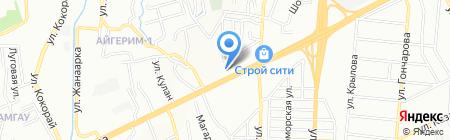 КамАЗ-Маркет на карте Алматы