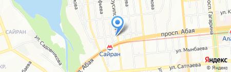 Бакшиш на карте Алматы