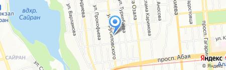 КазСтройТехСнаб на карте Алматы