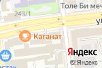Схема проезда до компании Акшамат, ТОО в Алматы