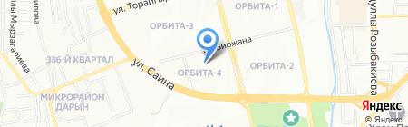 СЛС сервис на карте Алматы
