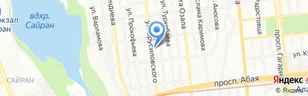 Быстрострой на карте Алматы