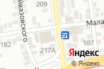 Схема проезда до компании Бакшиш в Алматы