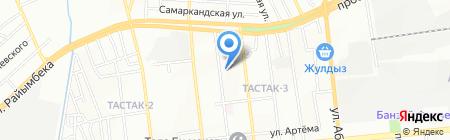 Эталон-XXI на карте Алматы