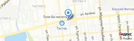 Эллада парикмахерская на карте Алматы