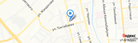 English на карте Алматы