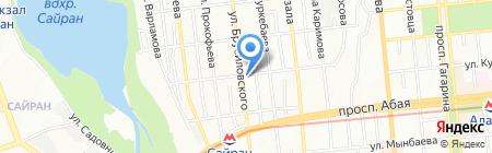 Venge на карте Алматы