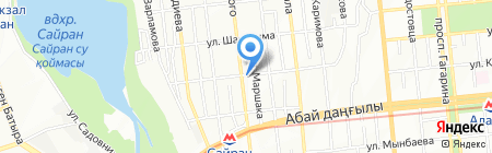 NEO на карте Алматы