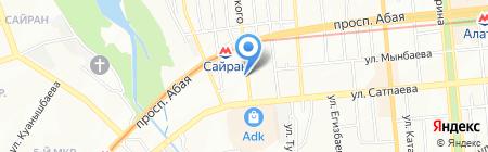 Дархан-Стом на карте Алматы