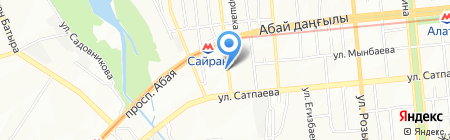 BBK-2007 на карте Алматы