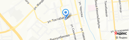 Магазин автозапчастей на карте Алматы