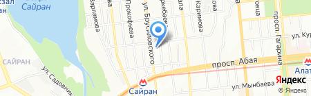 Ён-Ван на карте Алматы