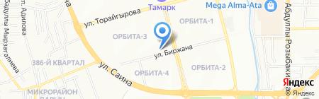 La Vida на карте Алматы
